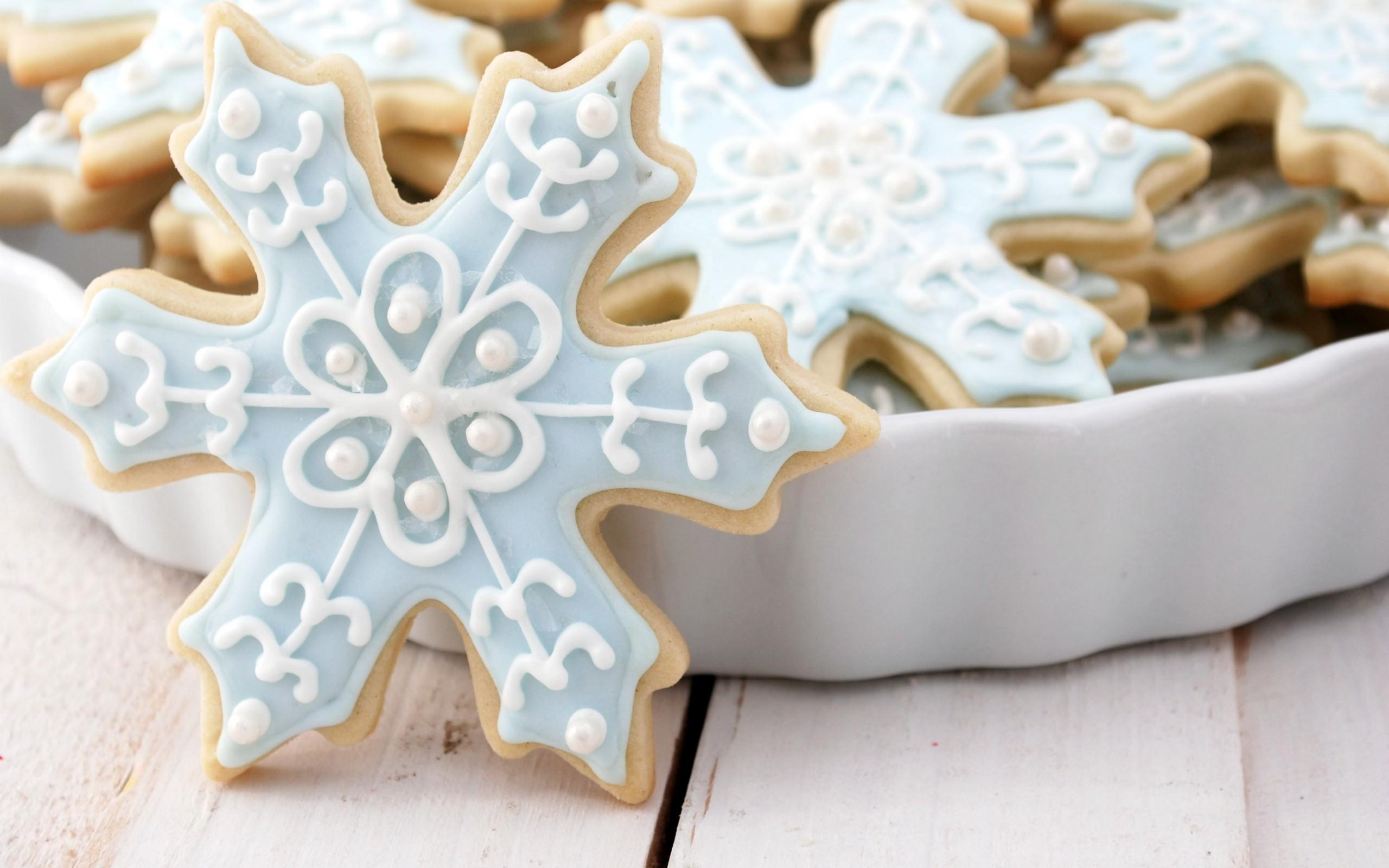 pretty christmas cookies wallpaper 40512