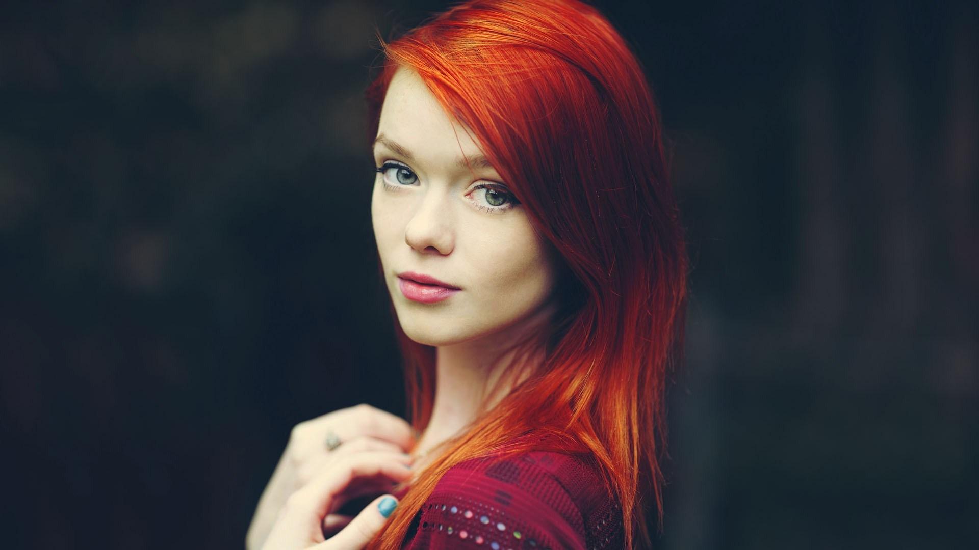 redhead wallpaper 20608