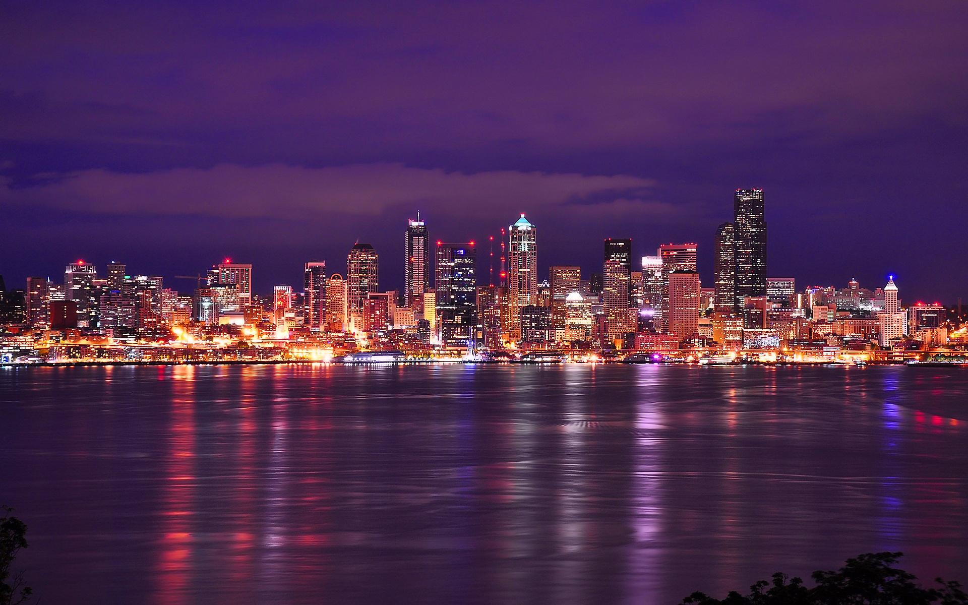 Seattle Skyline Wallpaper 20865