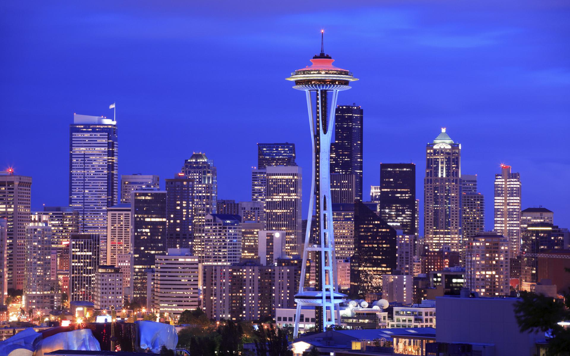 Seattle Skyline Wallpaper px HDWallSource
