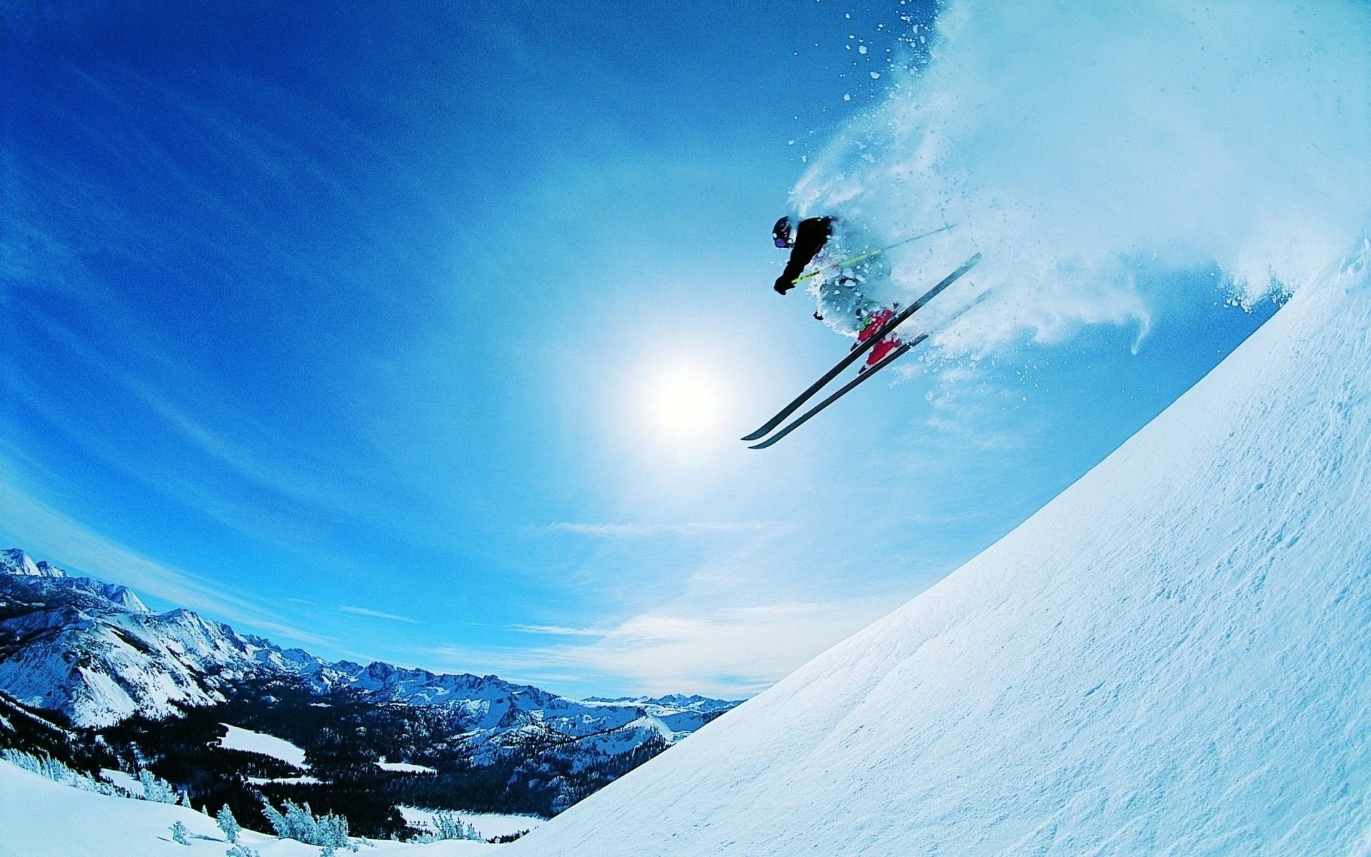 skiing wallpaper 4099