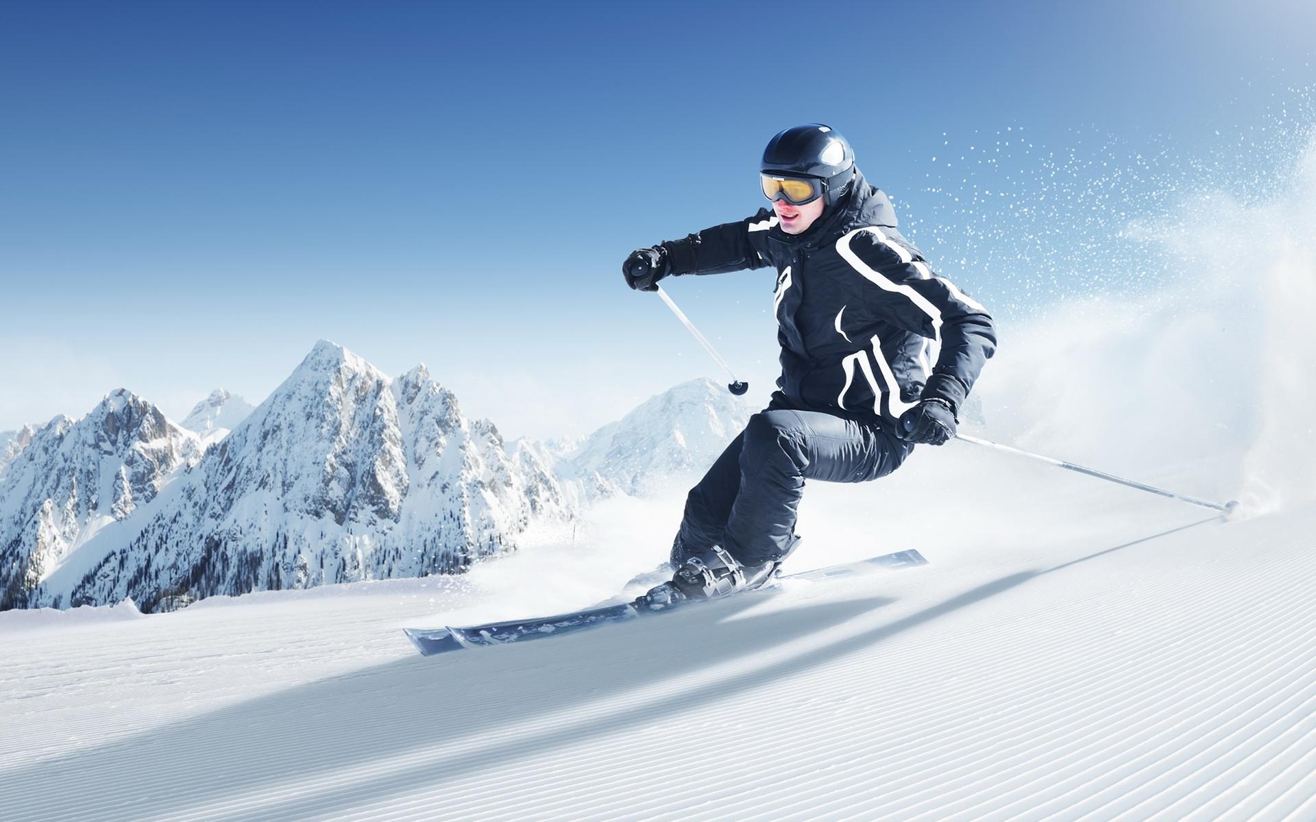 skiing wallpaper 4101