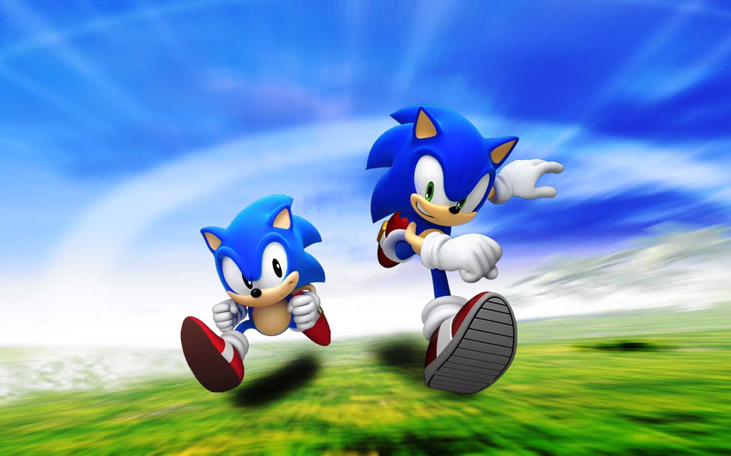 wallpaper sonic blue - photo #44