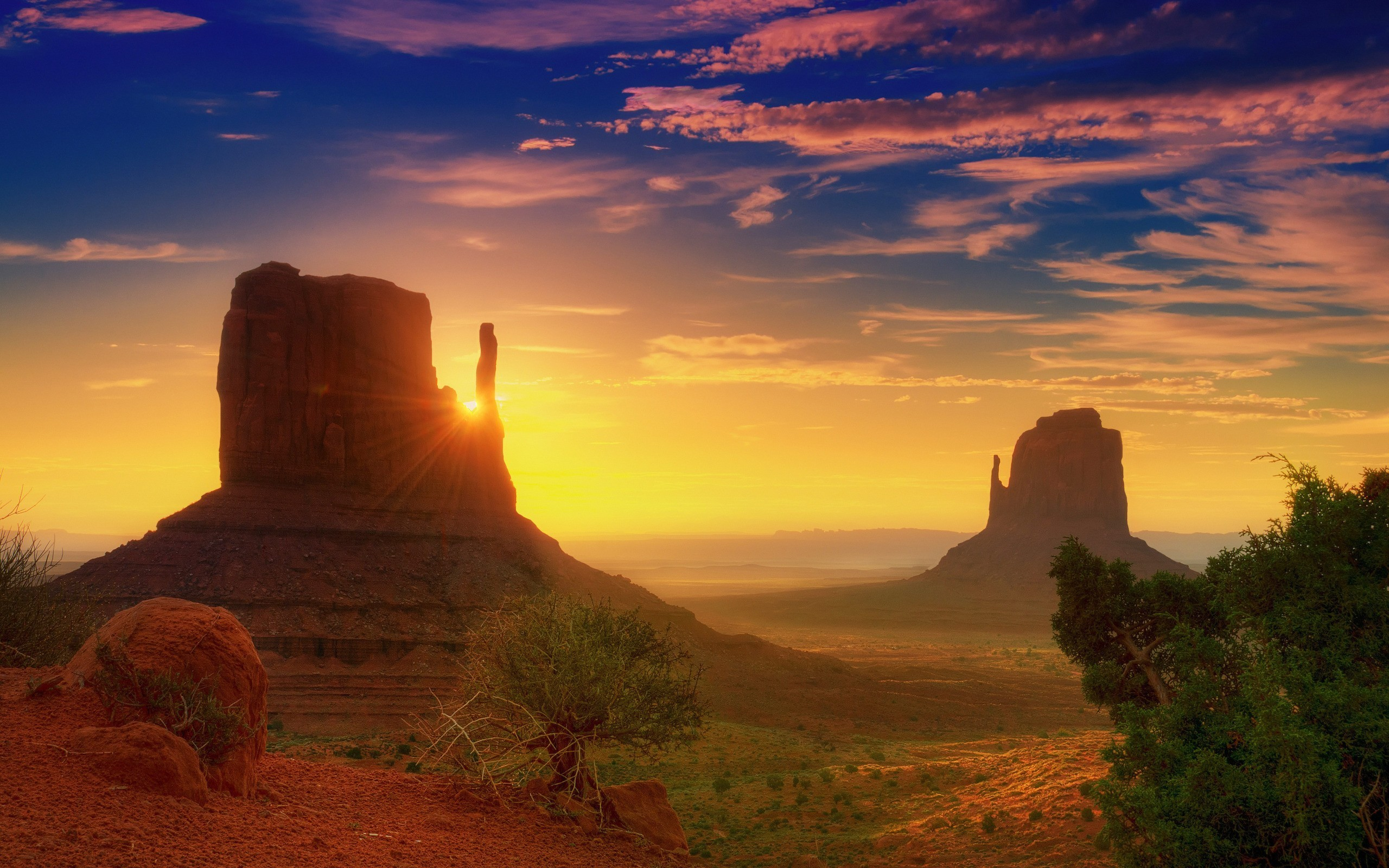 stunning arizona sunset wallpaper 30128