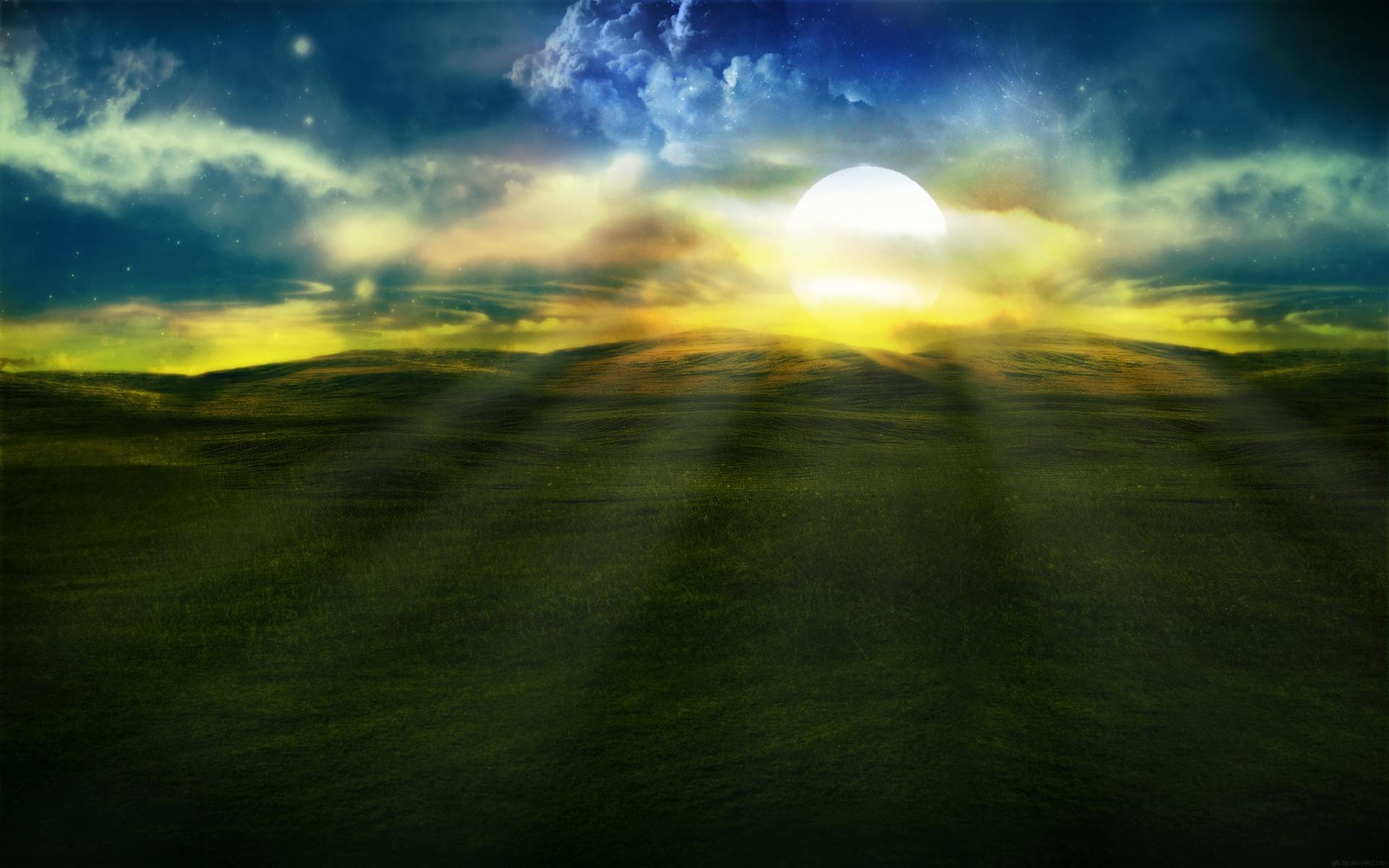 sun fantasy wallpaper 22630