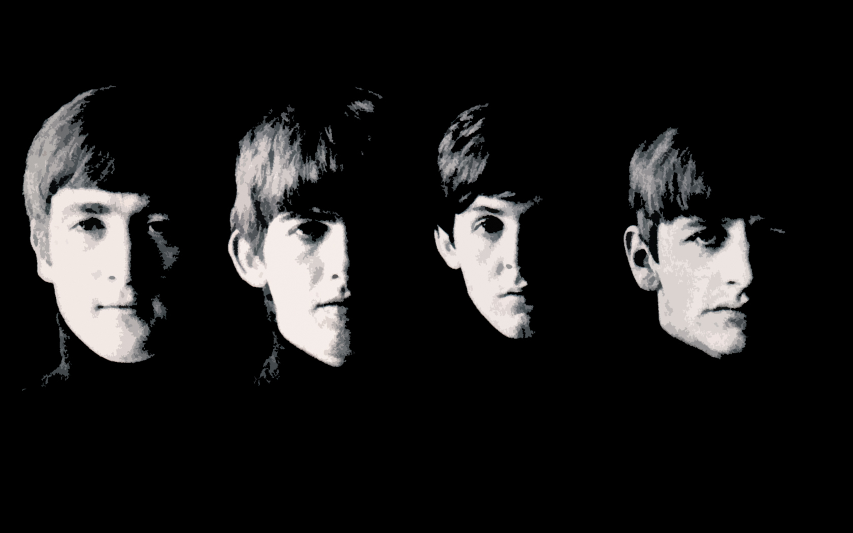 The Beatles 10863 1680x1050px