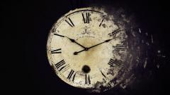 Abstract Clock Wallpaper 25450