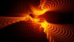 Amazing Orange Light Wallpaper 34817