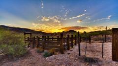 Arizona Sunset Background 30136