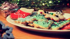 Awesome Christmas Cookies Wallpaper 40523