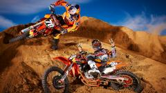 Awesome Orange Bike Wallpaper 33225
