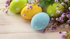 Beautiful Easter Eggs Wallpaper 44336