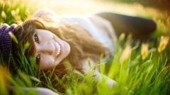 Beautiful Mood Smile Wallpaper 40175