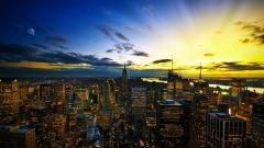 Beautiful Skyline Wallpaper 29358