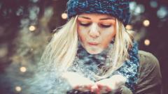 Beautiful Winter Mood Mood Wallpaper 44066