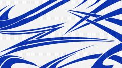 Blue and White Wallpaper 8909