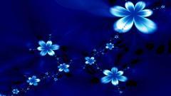 Blue Flowers 14091
