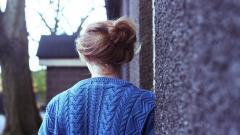 Blue Sweater Mood Wallpaper 44064