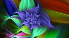 Bright Colored Flowers Wallpaper 27745