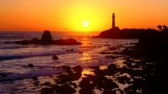 California Sunset Background 30157