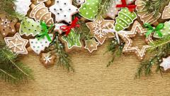 Christmas Cookies Wallpaper 40526