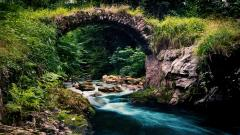 Cool Mountain Stream Wallpaper 33688