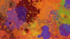 Cool Splatter Wallpaper 32889