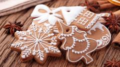 Fantastic Christmas Cookies Wallpaper 40514