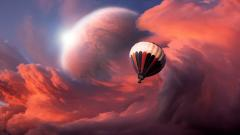 Hot Air Balloon Fantasy Wallpaper 19602