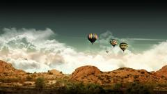Hot Air Balloon Wallpaper 19603