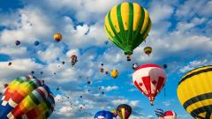 Hot Air Balloon Wallpaper 19612