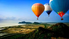 Hot Air Balloon Wallpaper HD 19608