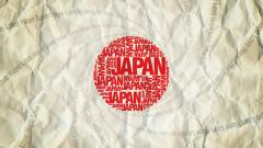 Japanese Abstract Flag Wallpaper 22093