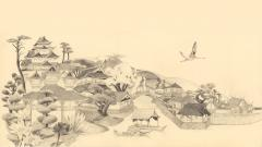 Japanese Art Wide Wallpaper 7659