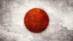 Japanese Flag Art Wallpaper 7661