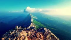 Mountain Peaks Wallpaper HD 33593