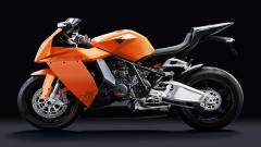 Orange Bike Wallpaper 33224