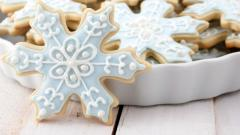 Pretty Christmas Cookies Wallpaper 40512