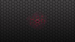 Red Honeycomb Wallpaper 25832