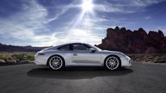 Silver Porsche 911 Wallpaper 20606
