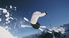 Skiing Wallpaper 4100