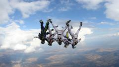 Skydiving 34802