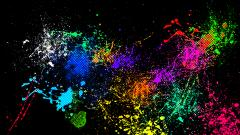 Splatter Wallpaper 32887