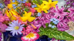 Spring Flowers 14124