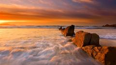 Stunning Beach Sunrise 28967