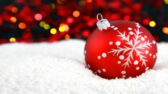 Wonderful Christmas Ball Wallpaper 44076