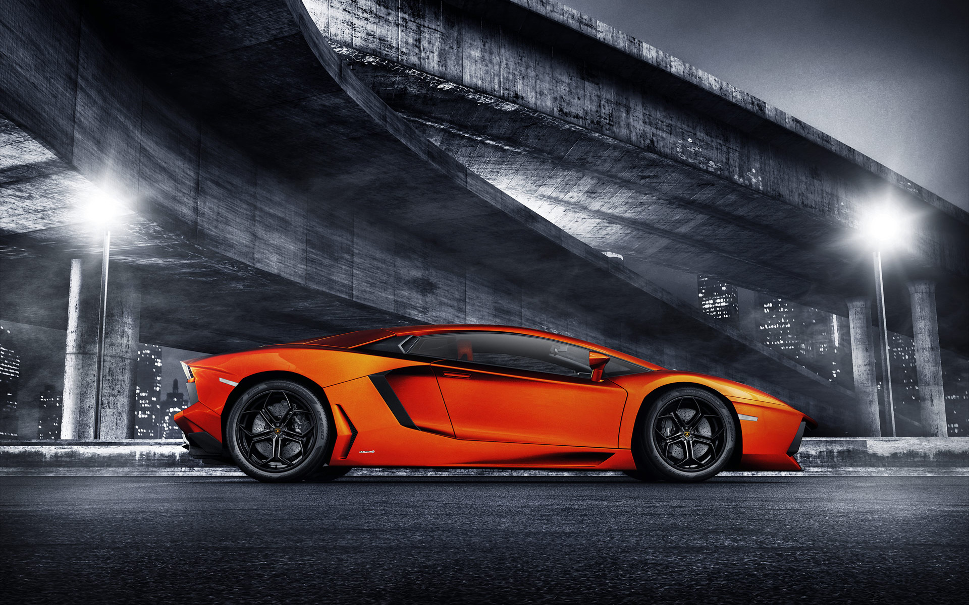 amazing orange car wallpaper 32756