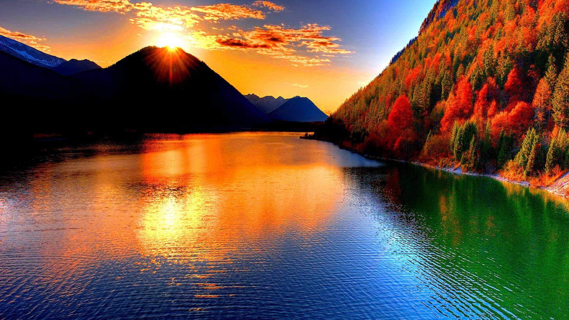 amazing sunset wallpaper 28987