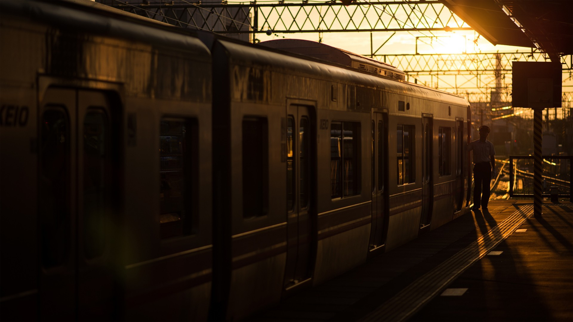 awesome train station wallpaper 38794