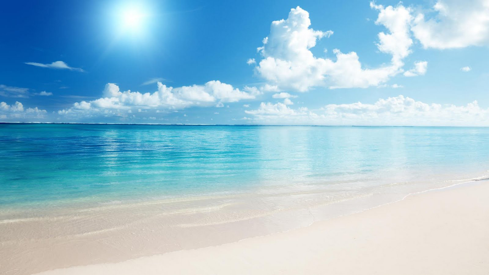 beautiful beach background 17581